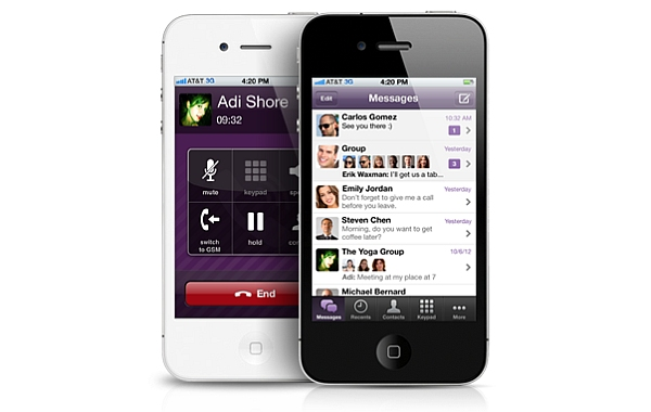 Viber for iPhone