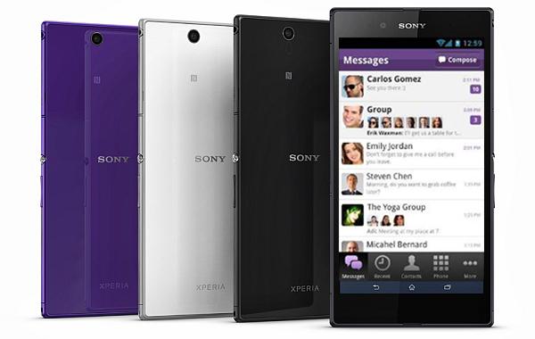 viber Sony xperia