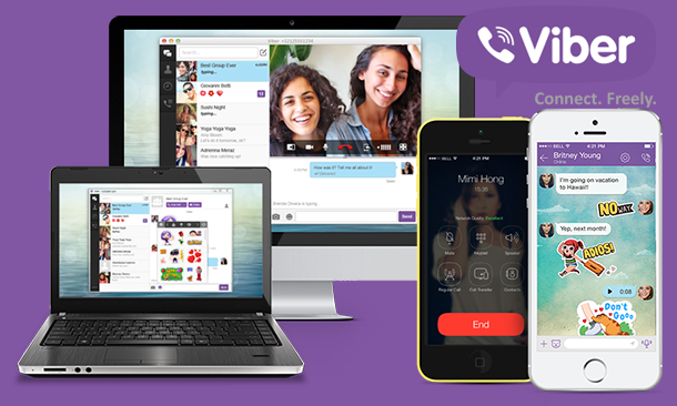 Download Viber: Free calls, text and picture sharing with anyone ...