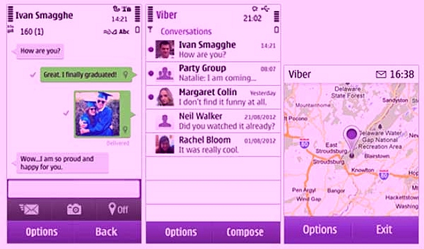 Download Viber for Symbian and Nokia S40