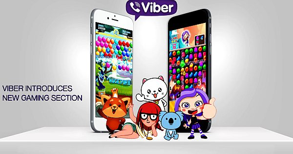 Now You Can Play Games with Viber Messaging App