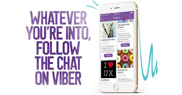 BuzzFeed Public Chat Channel in Viber