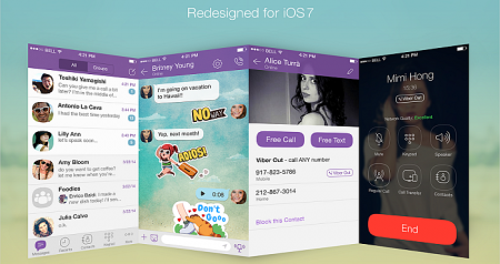 Viber Updates its Features for iOS